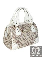 Túi xách Versace Tan & White